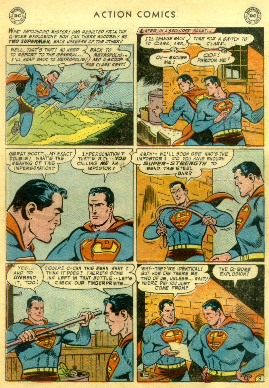 Read online Action Comics (1938) comic -  Issue #222 - 4