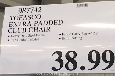 Deal for the Tofasco Extra Padded Club Chair at Costco