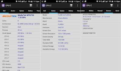 CPU-Z Information