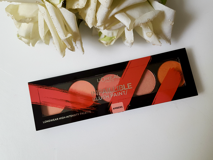 L´Oréal Paris - Summer Makeup Launches 2017 L´Oréal Paris Infaillible Blush Paint Palette - The Ambers - 10g - 14.95 Euro - Madame Keke beauty & lifetyle blog