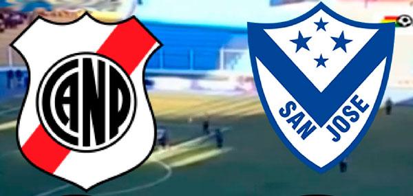 En vivo Nacional vs. San José