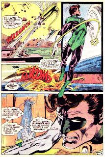 Green Lantern Green Arrow #84 dc comic book page art by Neal Adams
