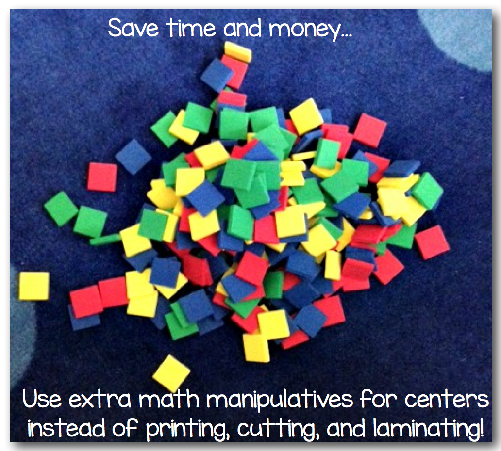 Bright Idea For Using Extra Math Manipulatives Sunny