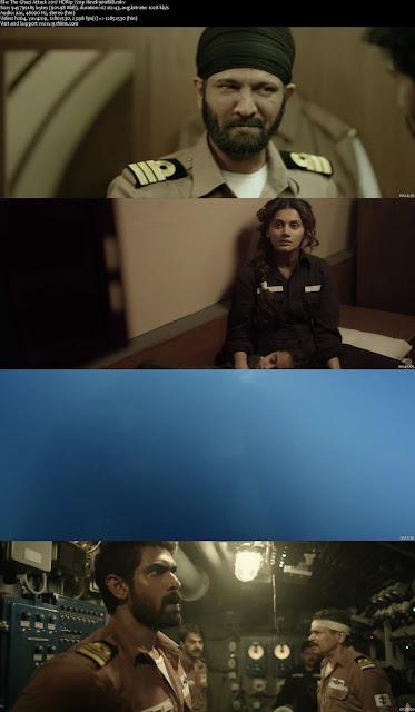 The Ghazi Attack 2017 HDRip 720p Hindi