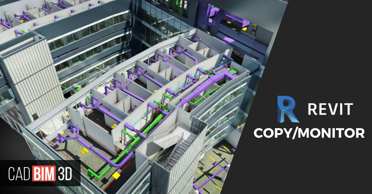 Cómo usar Copy/Monitor para importar modelos en Revit MEP