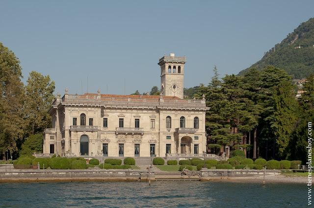 Lago di Como viaje Italia barco verano