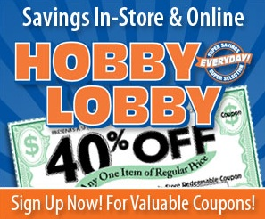 hobby lobby daily coupon