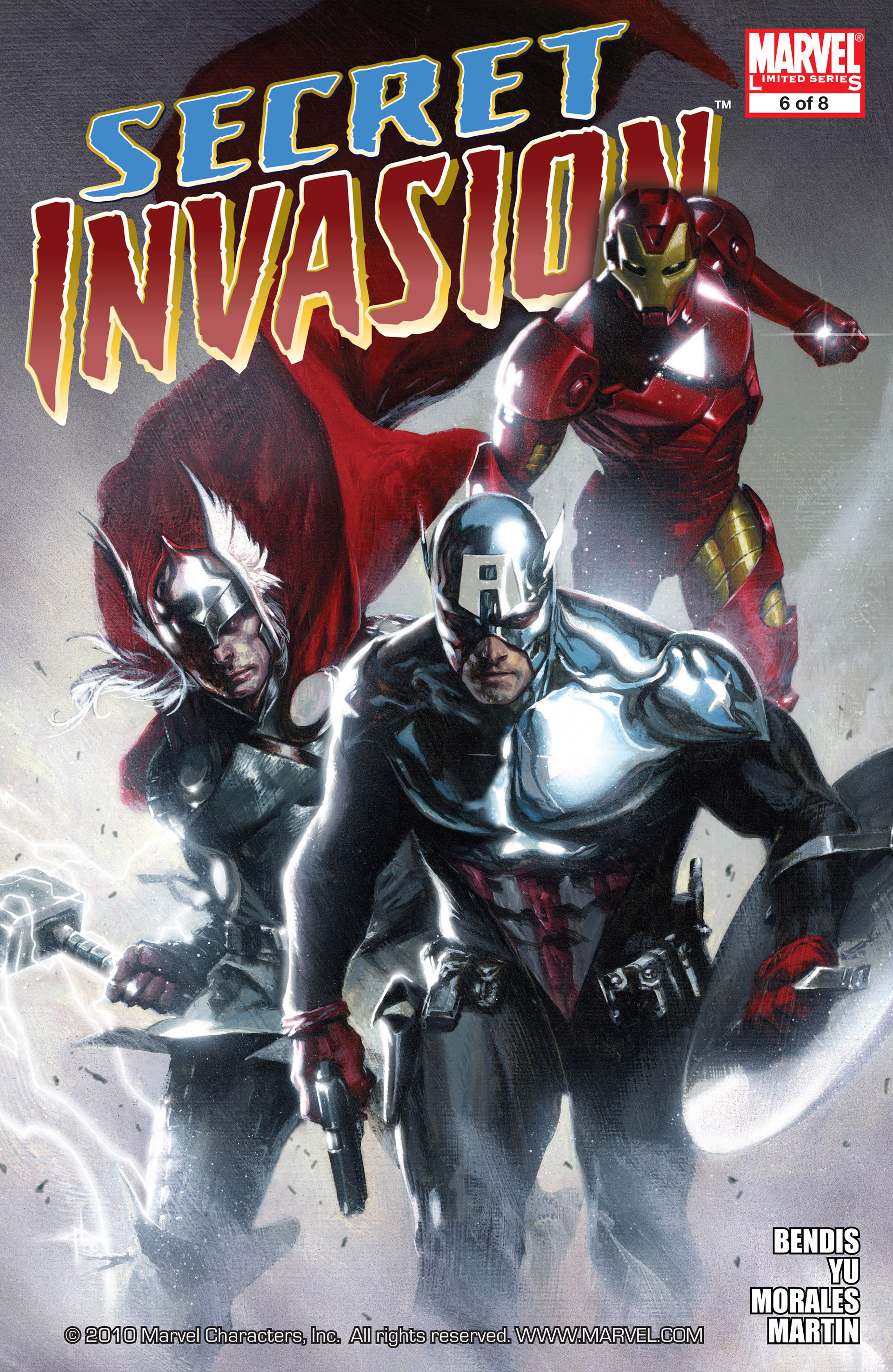 Read online Secret Invasion comic -  Issue #6 - 1