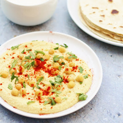 Why not try this homemade hummus.  Dips are so easy to package up when eating alfresco.