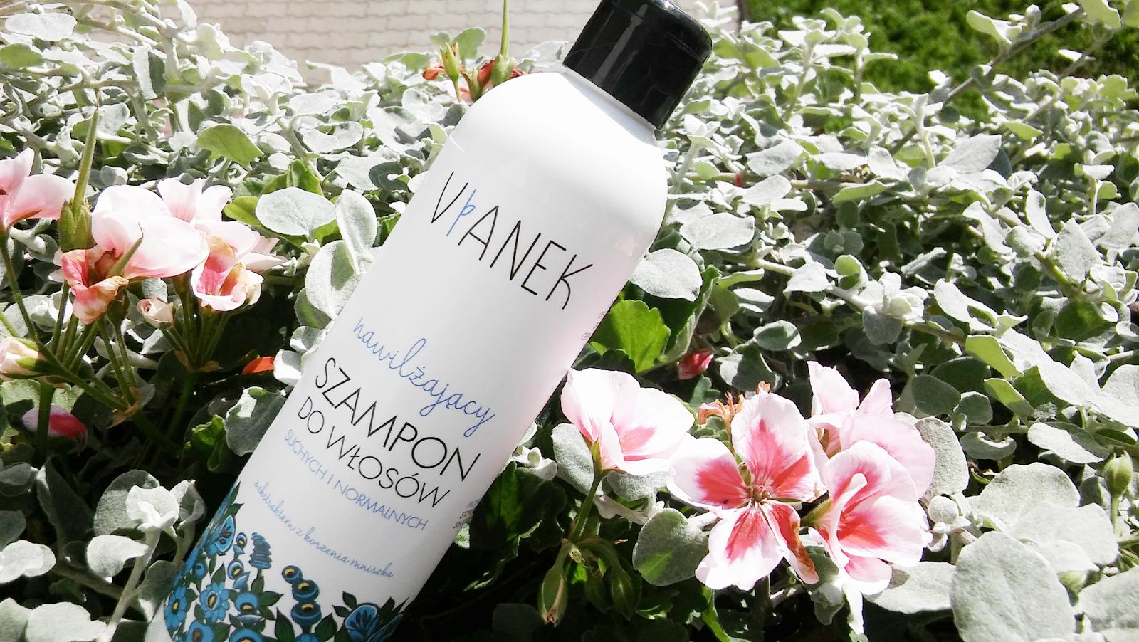 Mój ulubiony… łagodny szampon do codziennego mycia włosów. Szampon nawilżający Vianek – recenzja.