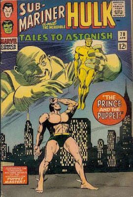 Tales to Astonish #78, Sub-Mariner vs the Puppet Master