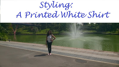 Styling a Printed White Shirt image