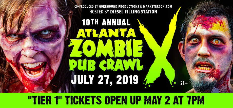 Atlanta Annual Zombie Pub Crawl