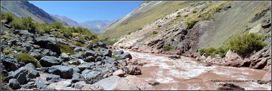 RÍO LAS CUEVAS - Paramillo de Las Cuevas - Las Heras - MENDOZA