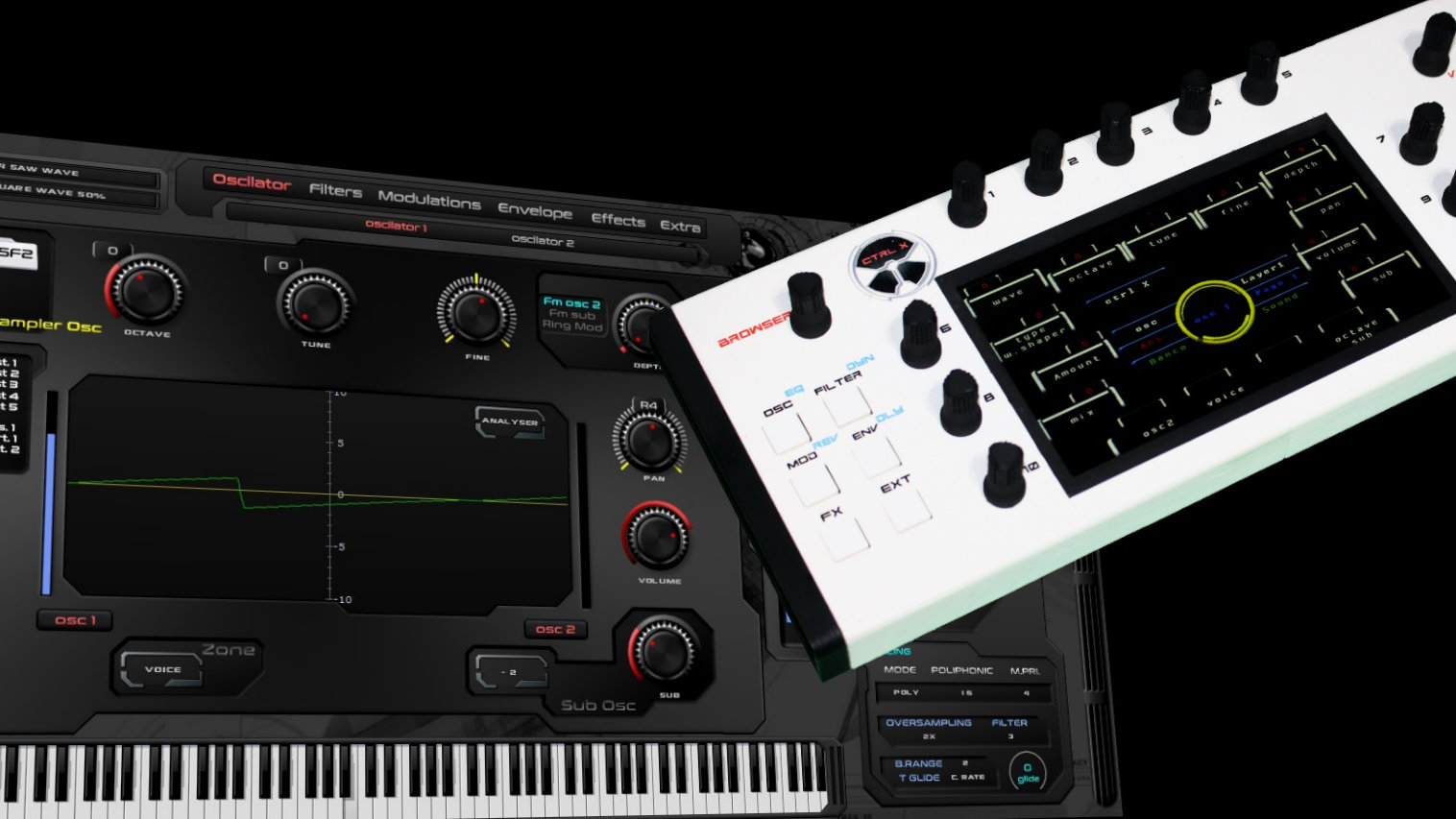 MATRIXSYNTH: Miclop Ctrl-X Open Source MIDI Controller and Sequencer