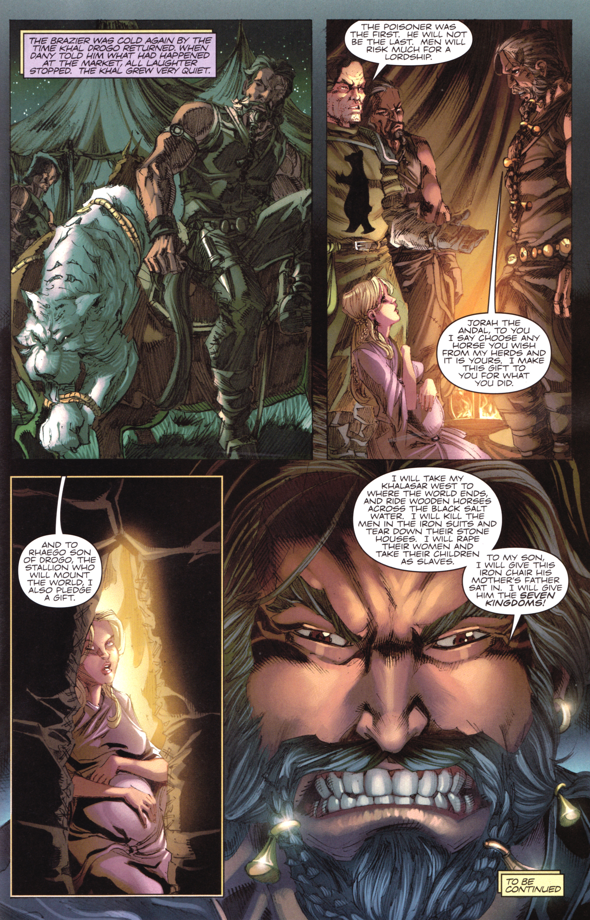 Read online A Game Of Thrones comic -  Issue #17 - 31