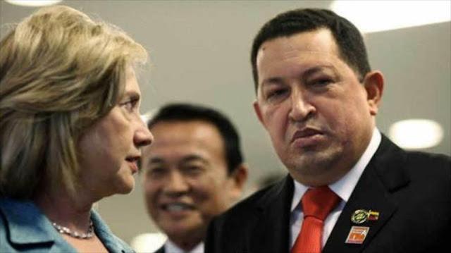 Filtraciones de Wikileaks revelan los esfuerzos de Clinton por sabotear a Venezuela