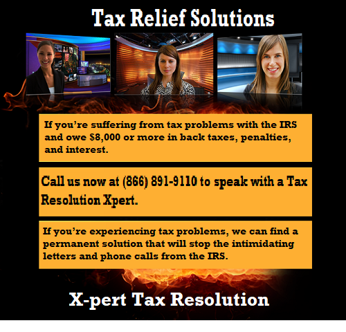 X-pert Tax Resolution has the skills and experience to find solutions for all tax issues.