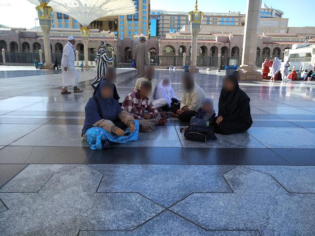 Umrah bersama anak-anak 16 hari