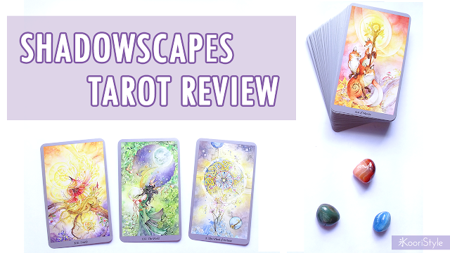 Koori Style, KooriStyle, KooriMidnight, Koori Midnight, Tarot, Review, Shadowscapes Tarot, Tarot Review, Tarot deck, Tarot Cards, Beautiful Tarot, Beautiful Cards, Review, Reseña, Cartas