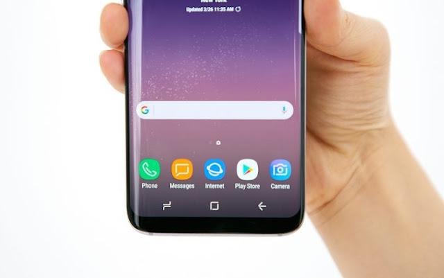 Samsung Layar Infinity Display