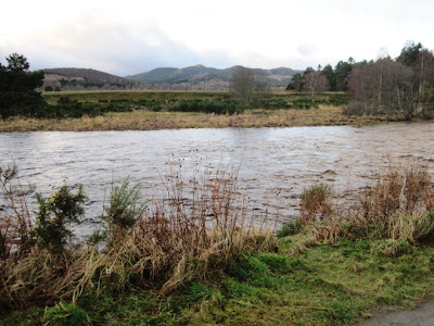 Deeside Walks: the route around Ballater Golf course passes the river