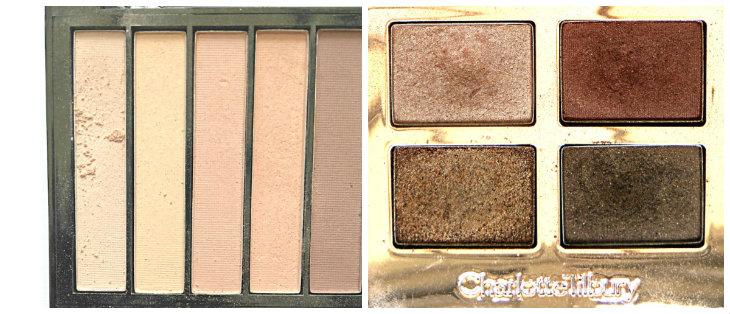 Makeup Revolution Essential Mattes 2; Charlotte Tilbury Dolce Vita