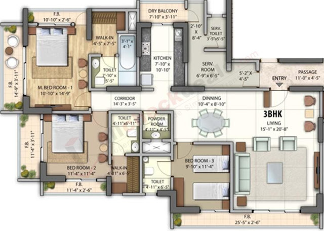 Omakr Mahim Floor Plan
