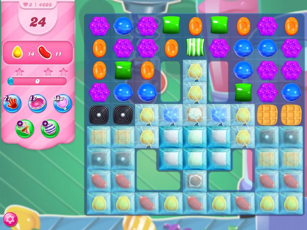 Candy Crush Saga level 4608