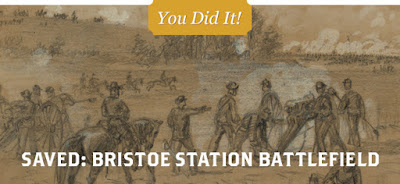 Preservation Victory at Bristoe Station