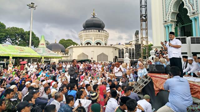 Dahnil Anzar: Sudah Tiga Kali Prabowo Batal ke Medan karena Pesawat