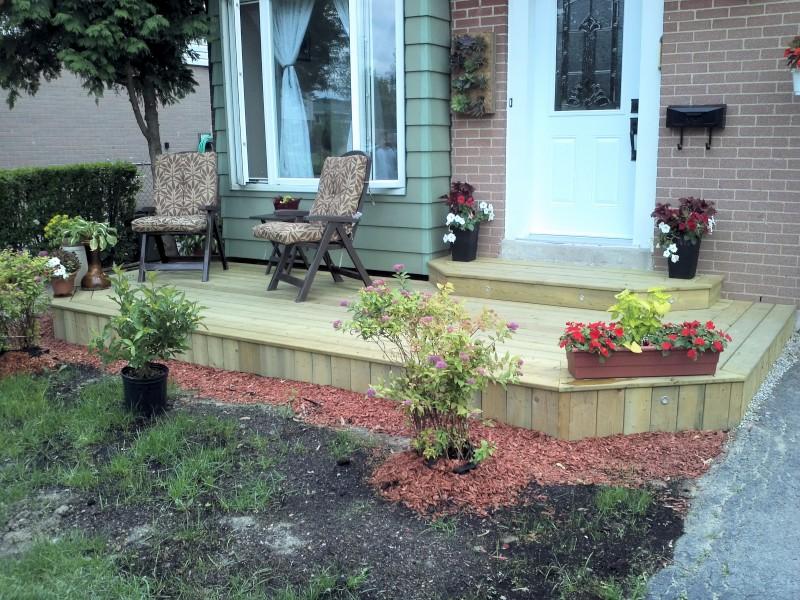 Dhiraj D'Souza: Deck Build - Front Porch