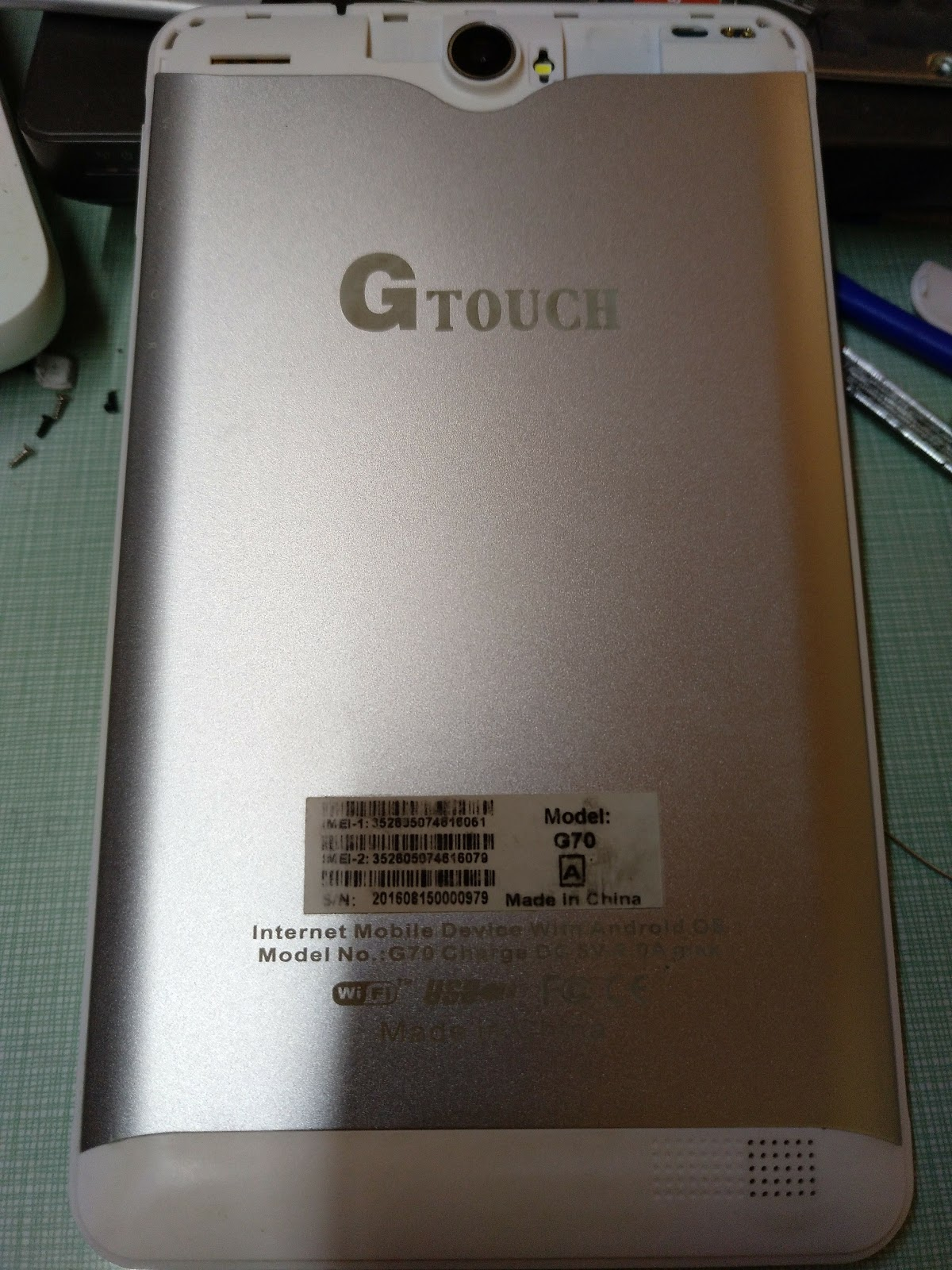 Gtouch G70 s7060a s108-7730-d2(216) Firmware - www gsmwan com
