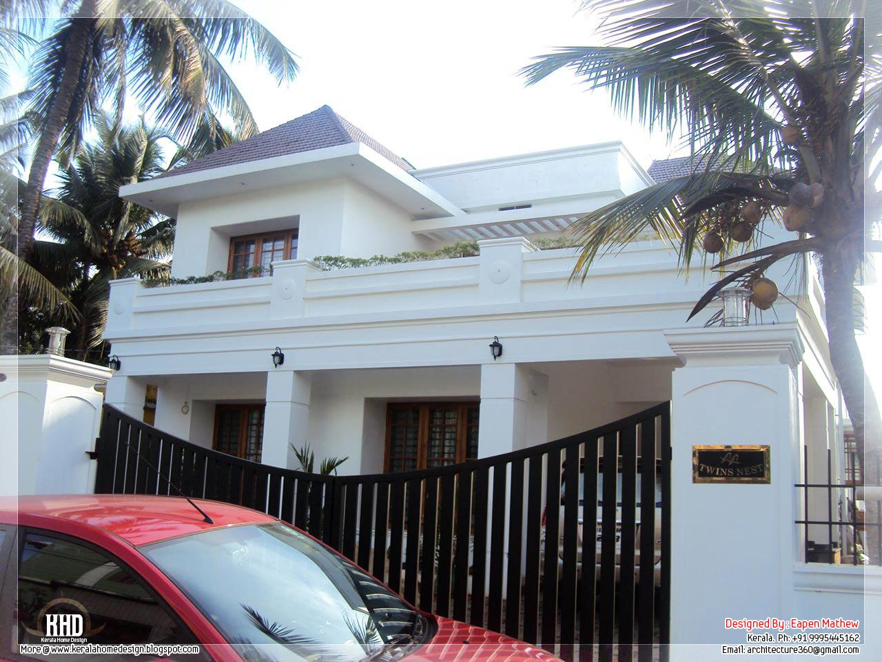 14 Beautiful Villa Elevations Kerala Home Design And