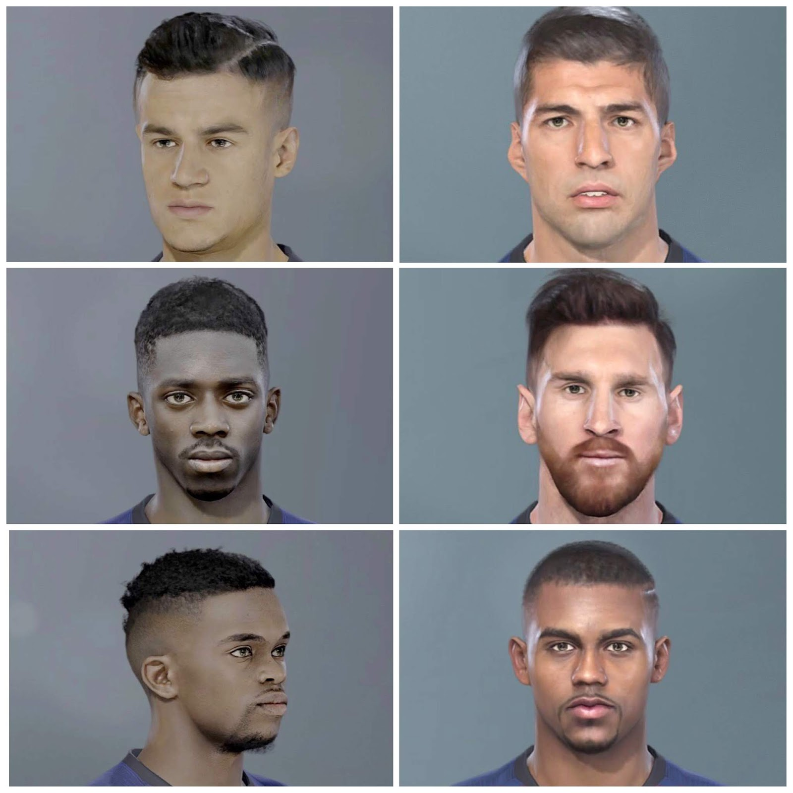 PES 2019 Barcelona Facepack by HKM