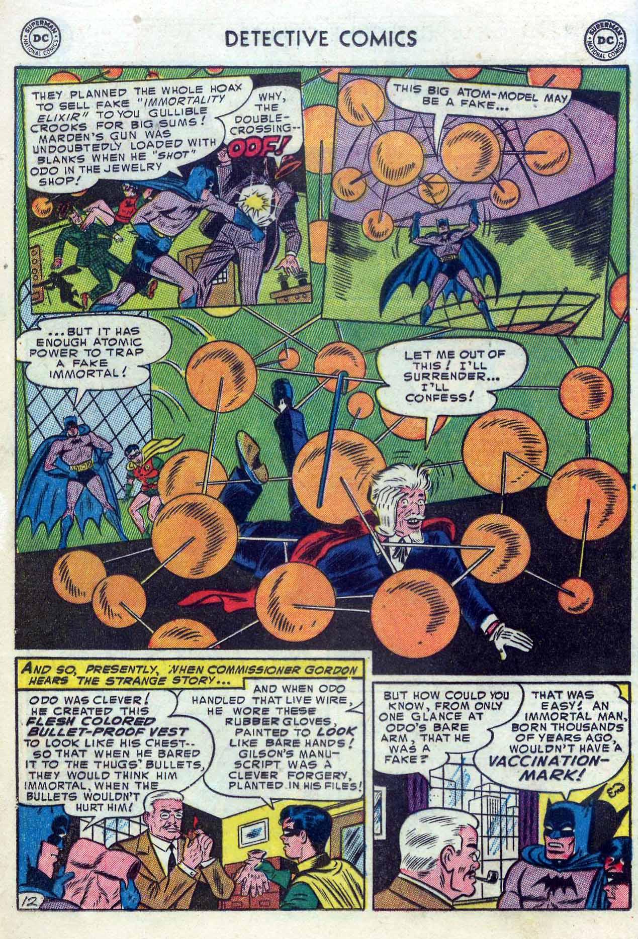 Read online Detective Comics (1937) comic -  Issue #204 - 14