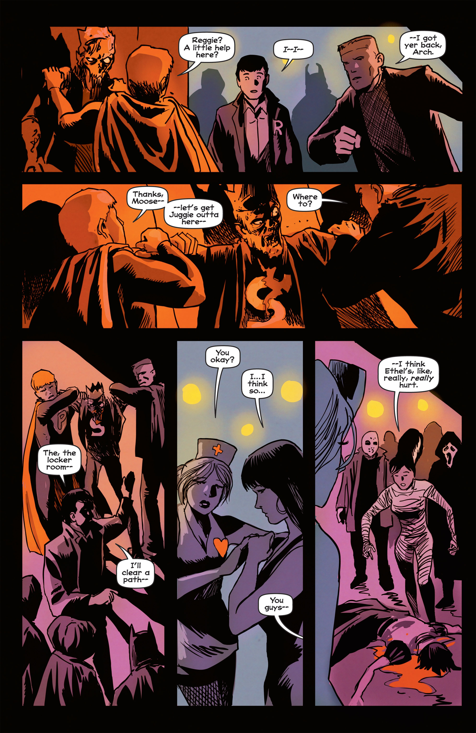 Read online Afterlife with Archie comic -  Issue #2 - 16