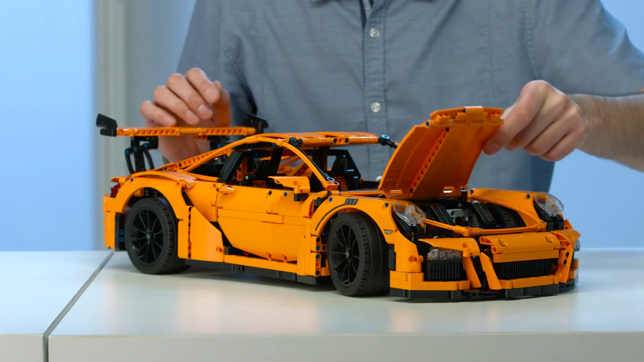 any tips dot com lego technic porsche 911 gt3 rs. Black Bedroom Furniture Sets. Home Design Ideas