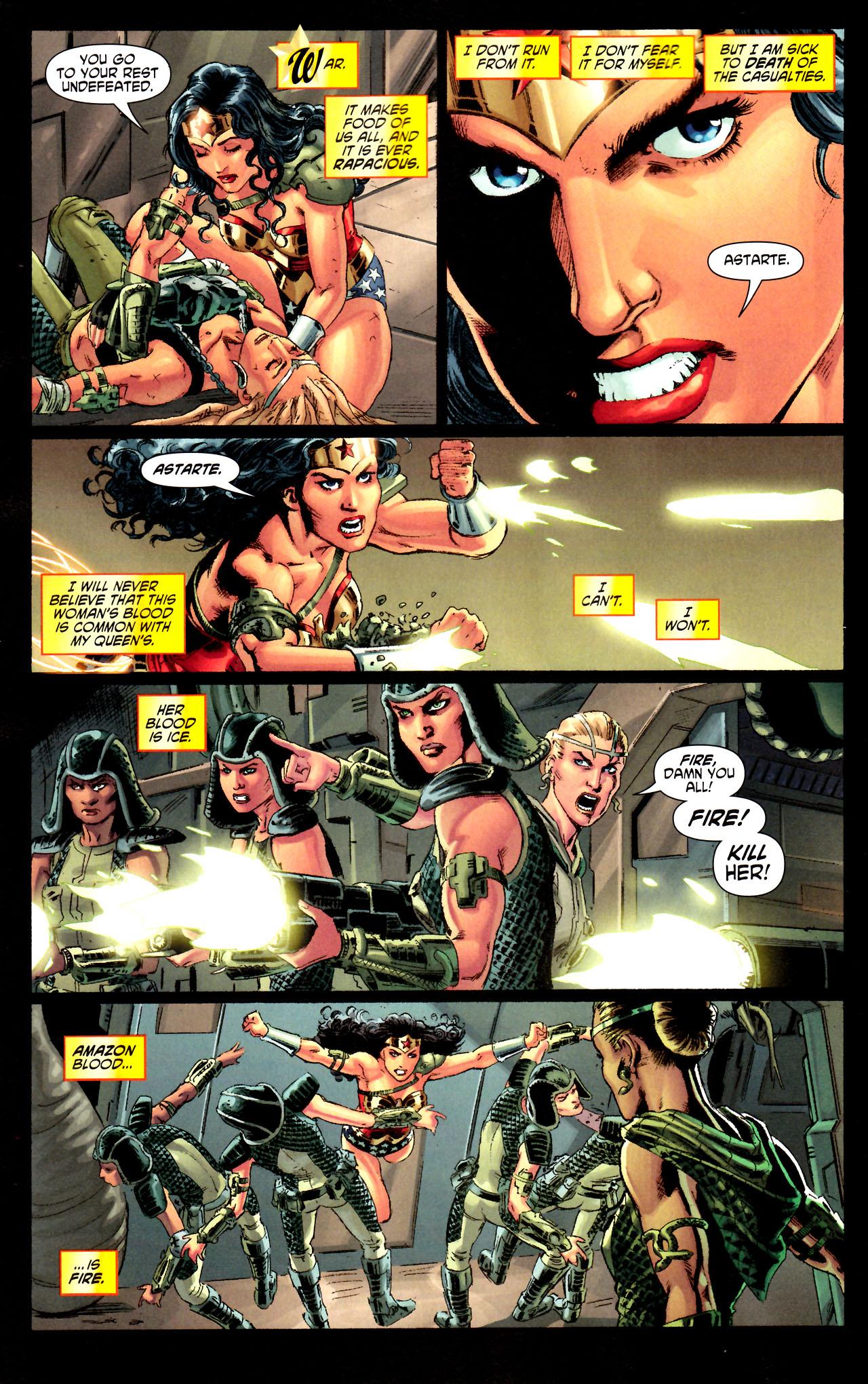 Read online Wonder Woman (2006) comic -  Issue #44 - 16