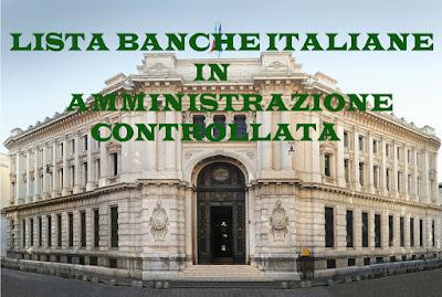 Banche in Amministrazione Straordinaria 2016