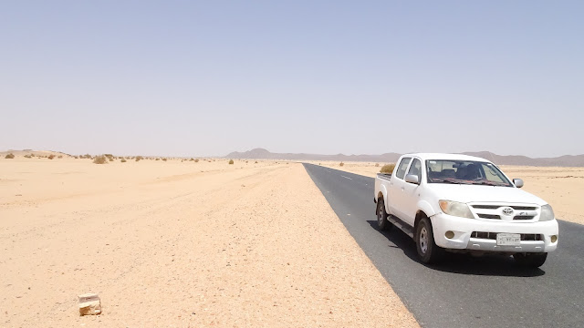 Driving to North of Sudan