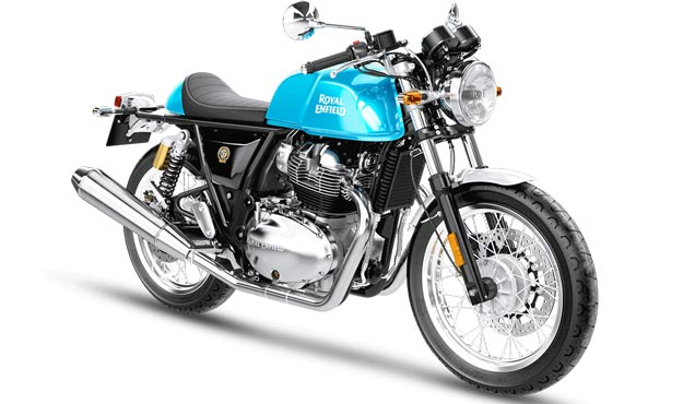 Royal Enfield Continental GT 650 Blue right side image