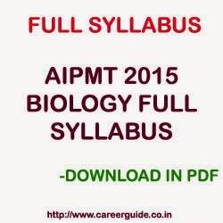 AIPMT 2015 SYLLABUS EPUB DOWNLOAD