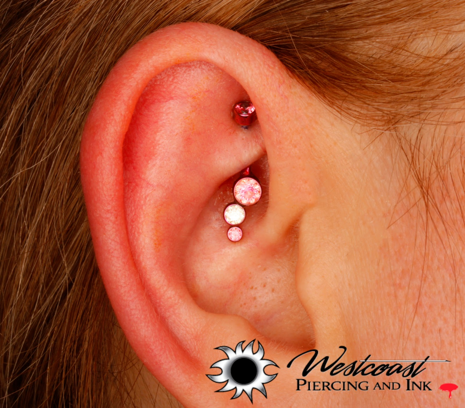 Westcoast Piercing And Ink Donna had her rook pierced with this