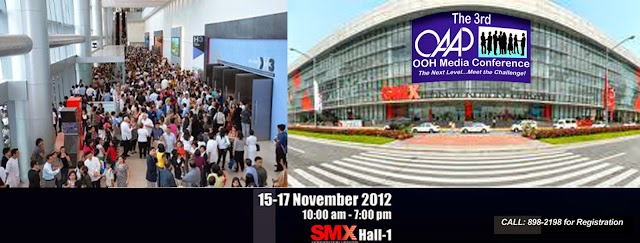 OAAP 2012 Expo at SMX with Outdoor Advertising Philippines OOH Media Conference