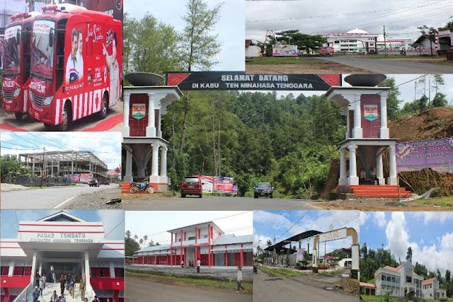 Pintu Masuk Kabupaten Mitra, Kantor Bupati Mitra, serta sejumlah Fasilitas yang telah disediakan Pemkab Mitra.