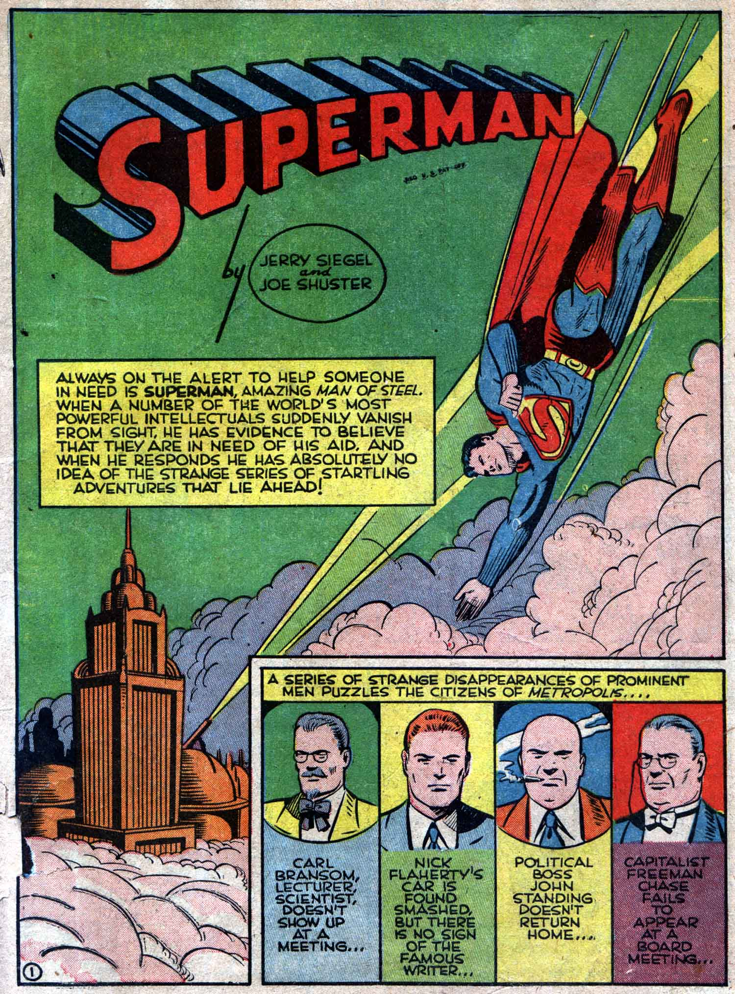Action Comics (1938) 42 Page 1