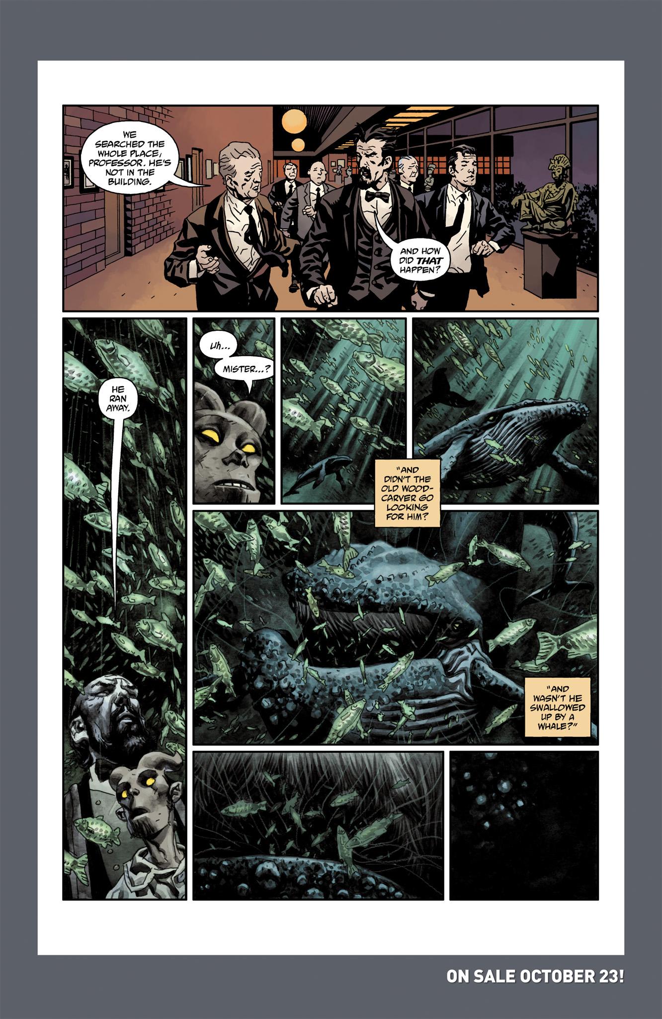 Read online Abe Sapien comic -  Issue #6 - 30