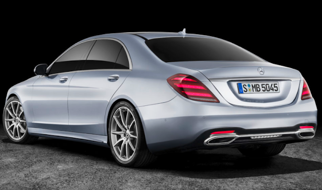 2018 Mercedes-Benz Reveals S-Class Upgrades Unveiled