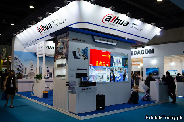 Dahua Technology Trade Show Display